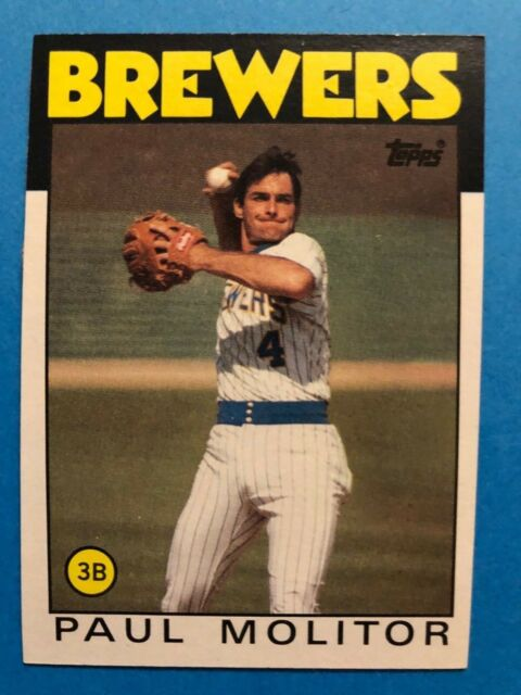 1986 Brewers - Paul Molitor